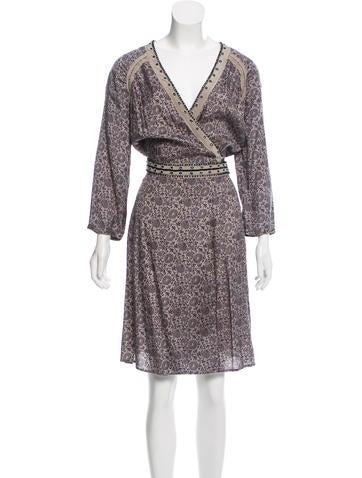 Day Birger et Mikkelsen Printed Midi Dress w/ Tags None