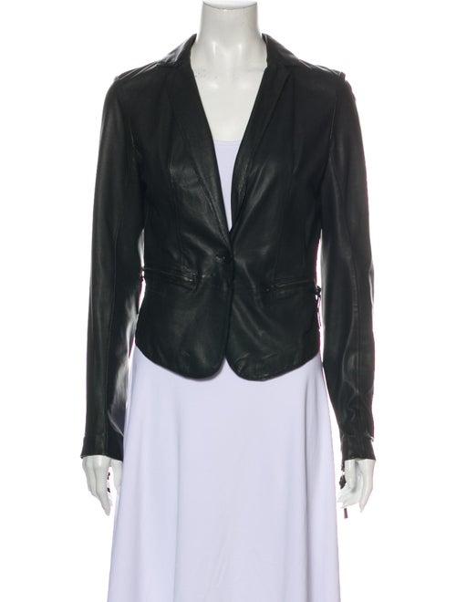 Day Birger et Mikkelsen Lamb Leather Blazer Black - image 1