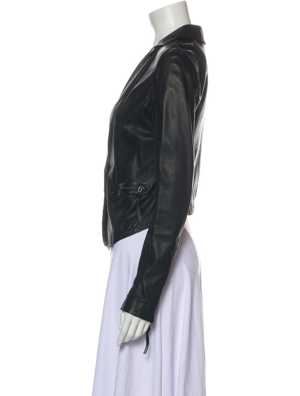 Day Birger et Mikkelsen Lamb Leather Blazer Black - image 2