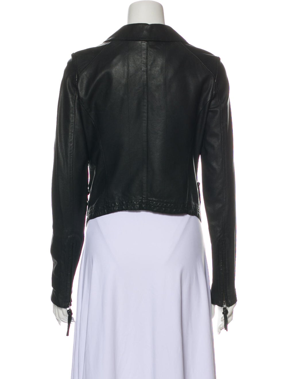 Day Birger et Mikkelsen Lamb Leather Blazer Black - image 3