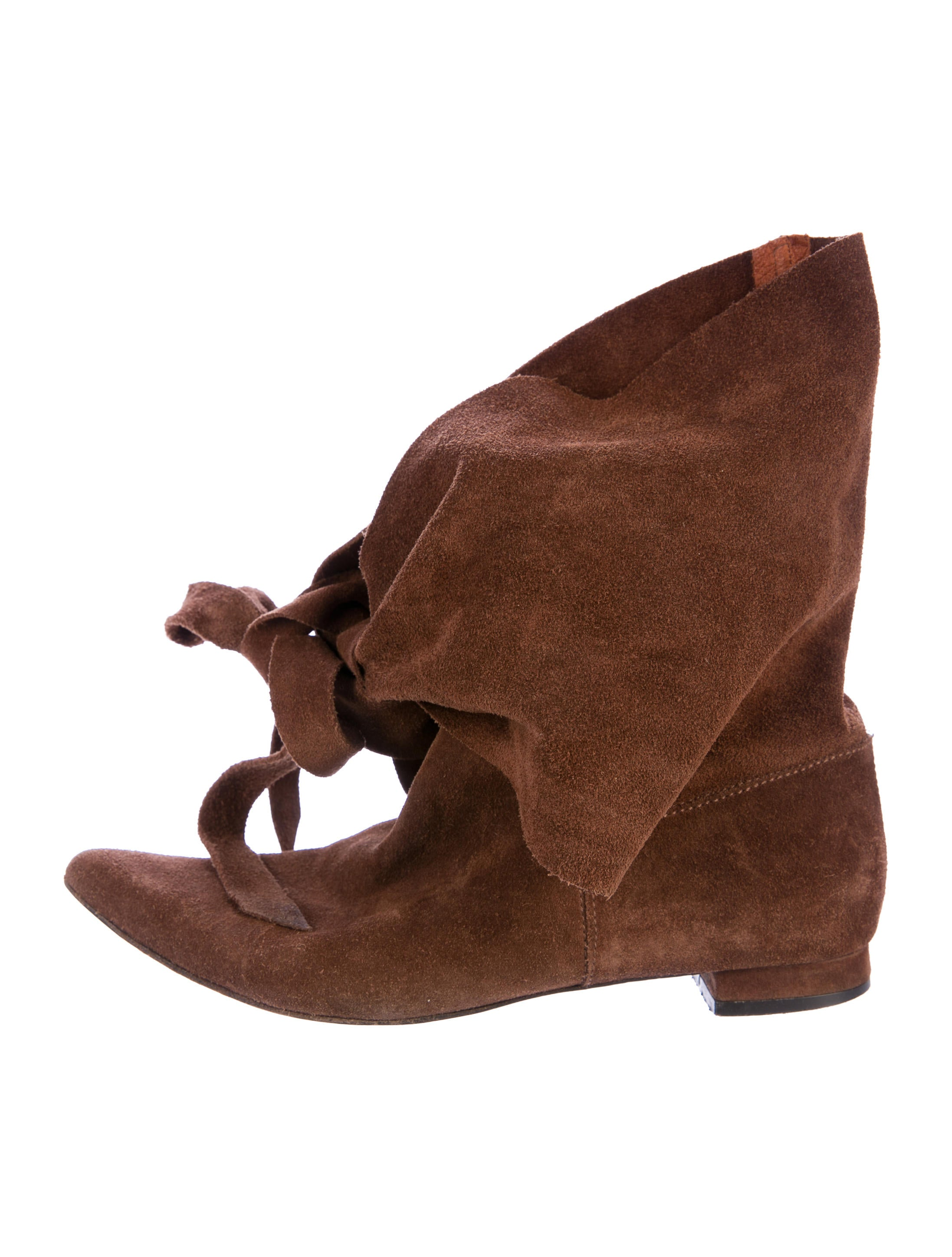 Delman Suede Pointed-Toe Mid-Calf Boots many kinds of sale online oYT0aGRA