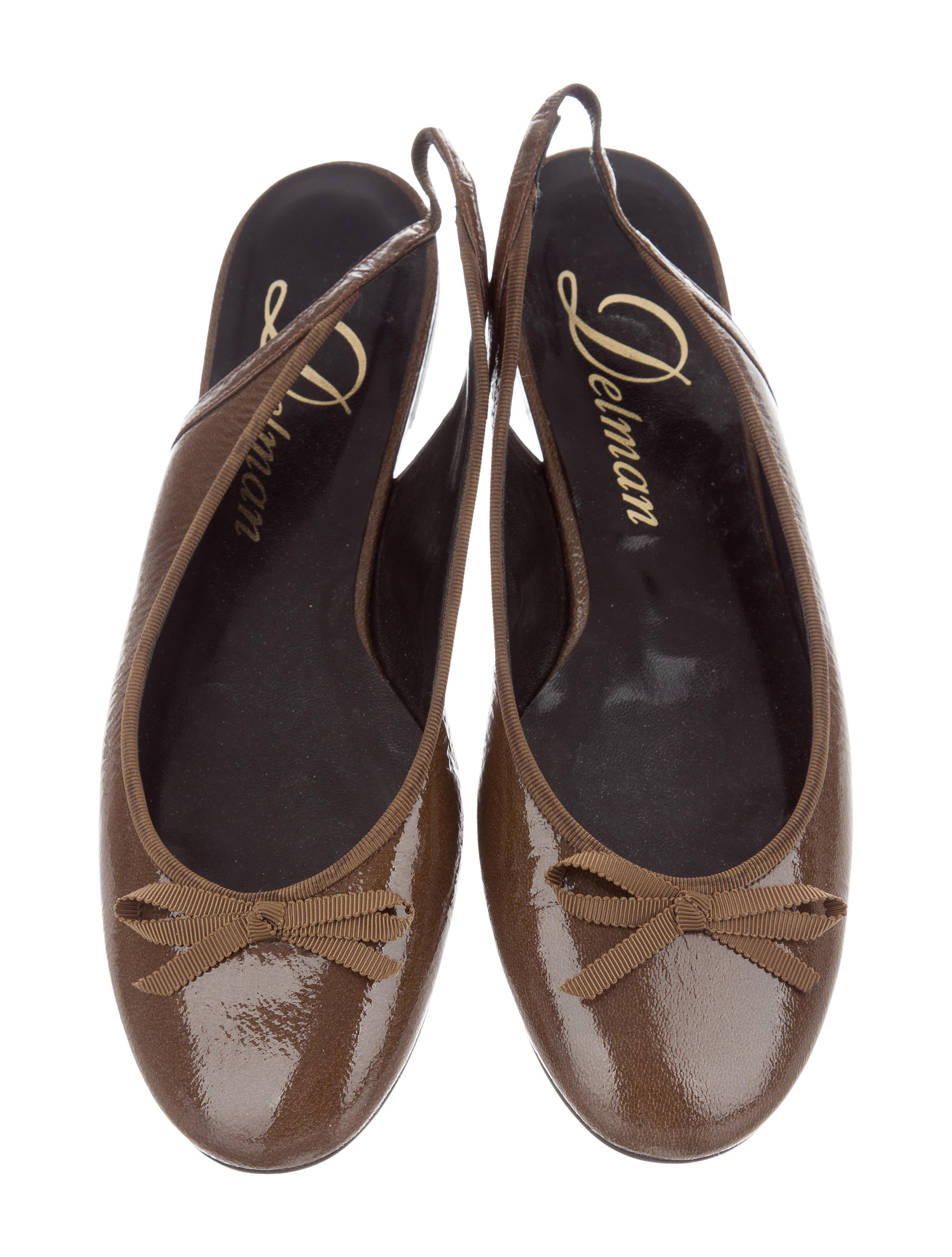 Delman Slingback Bow Flats low price cheap online discount best seller outlet authentic pay with visa for sale official site sale online jBc1TBbg6