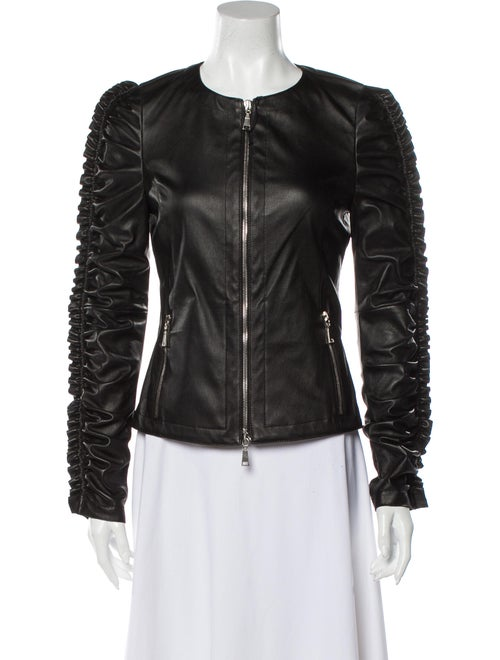 DROMe Leather Jacket Black