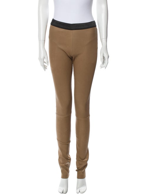 DROMe Leather Skinny Leg Pants