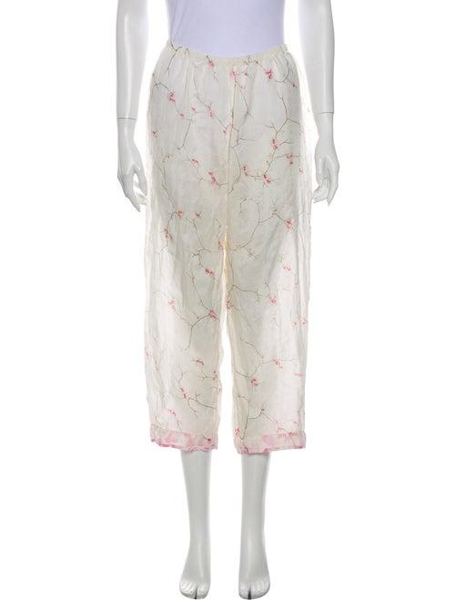 Dosa Silk Floral Print Pajamas