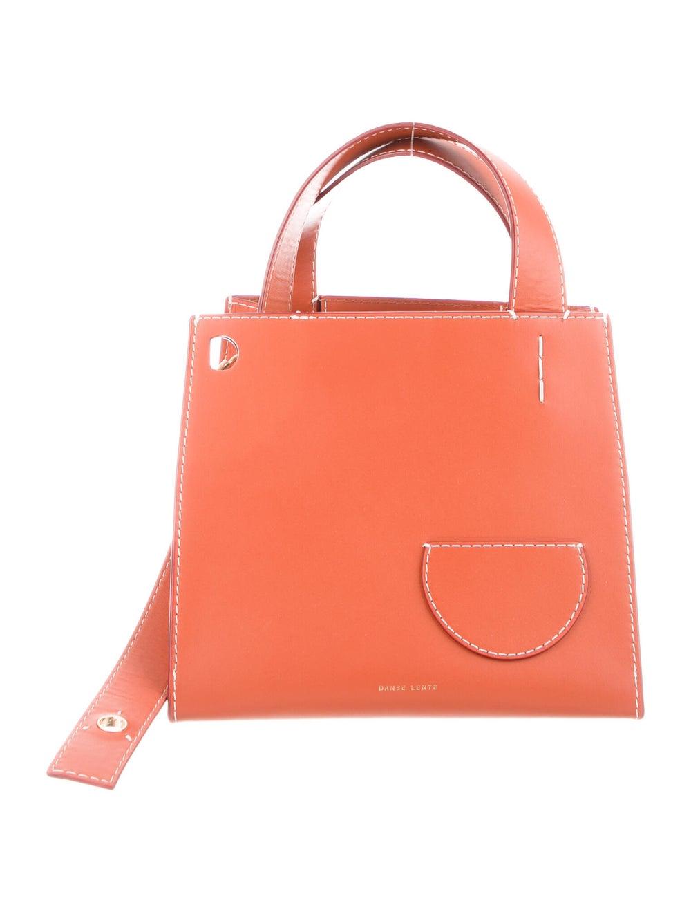 Danse Lente Leather Shoulder Bag Orange - image 1