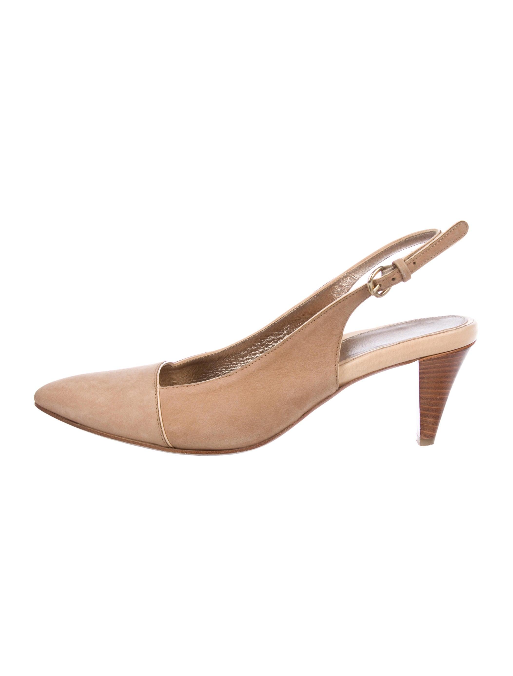 7c3caa7e6bf Dana Davis Suede Slingback Pumps - Shoes - WDANA20007
