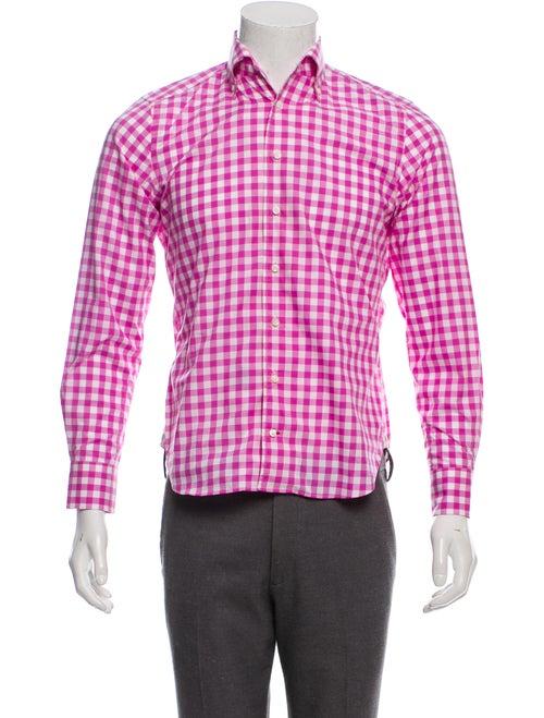 Daniel Cremieux Gingham Dress Shirt w/ Tags pink
