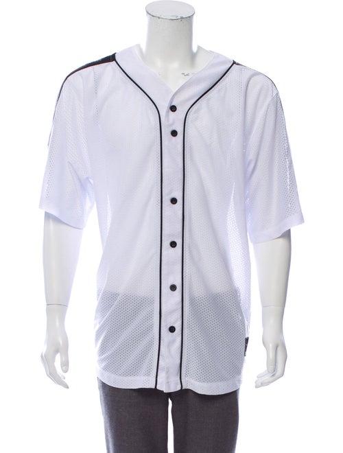 Daniel Patrick Mesh Baseball Jersey white