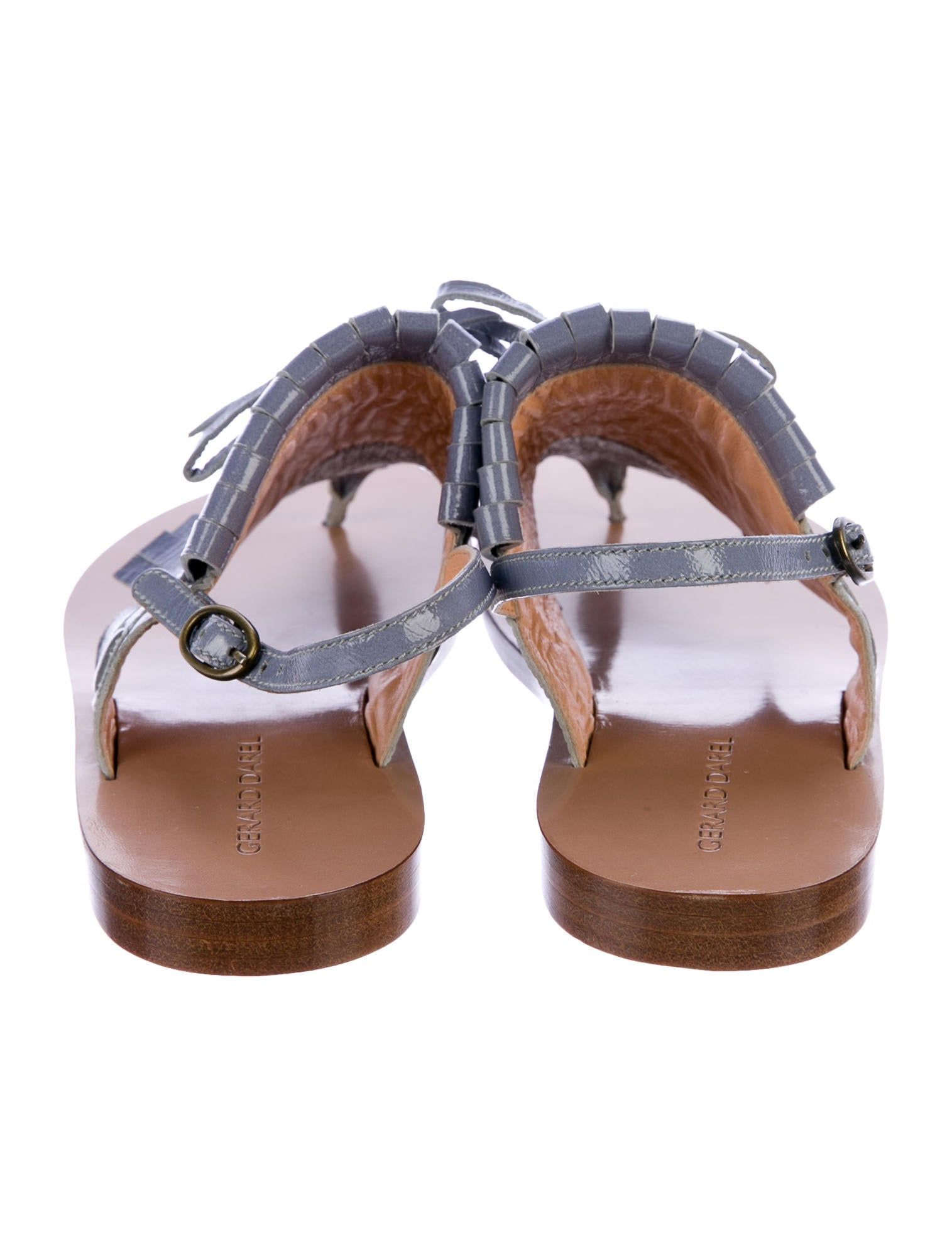 Inexpensive cheap price free shipping limited edition Gerard Darel Kiltie Thong Sandals 8tXCZ0xf