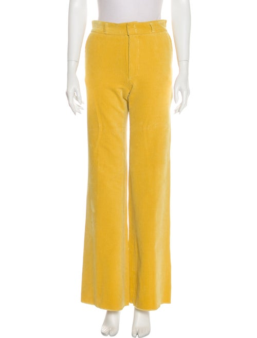 Gerard Darel Mid-Rise Straight Leg Jeans Yellow