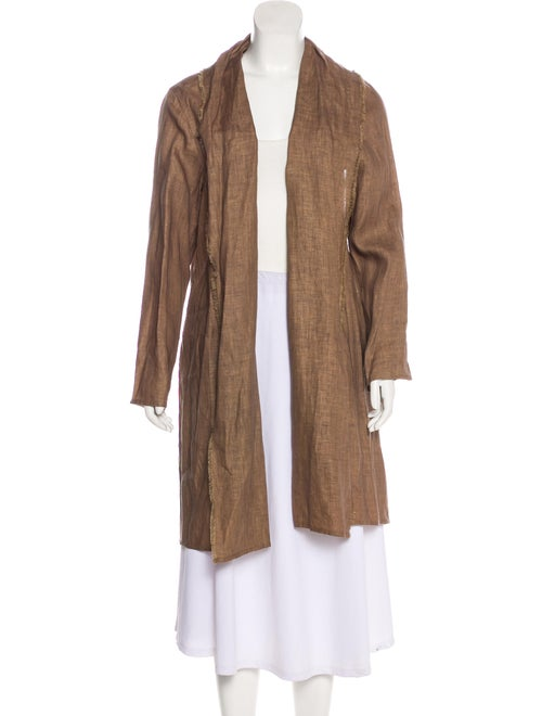 63360865c42 Denis Colomb Linen Open-Front Jacket w  Tags - Clothing - WDC20113 ...