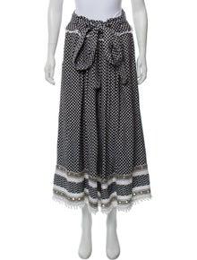 6b7dd84ab6 Dodo Bar Or. Checkered Midi Skirt