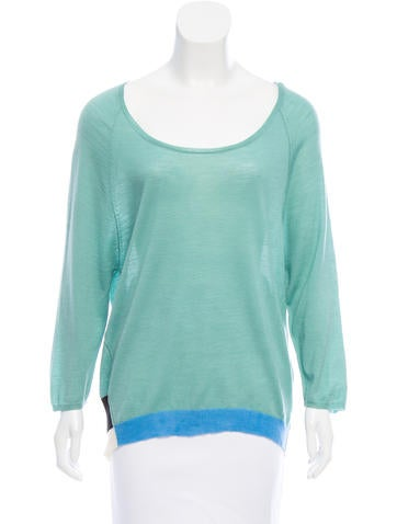 Dear Cashmere Wool Colorblock Sweater w/ Tags None
