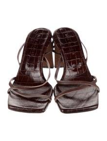 Dear Frances Leather Slingback Sandals