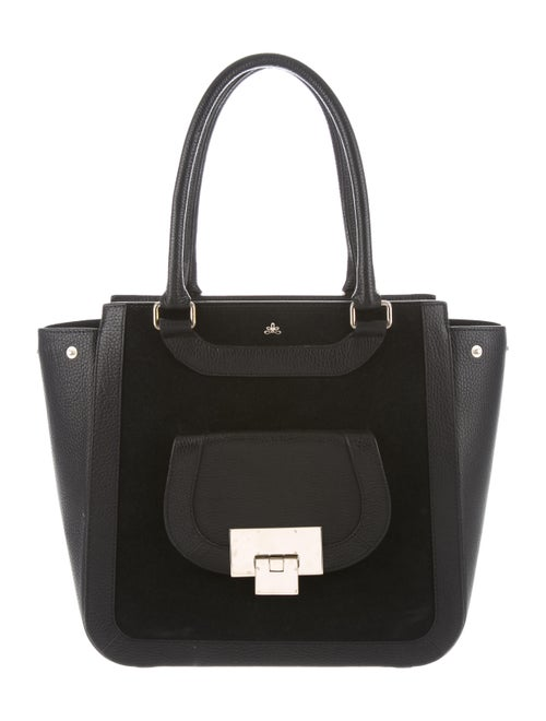 DeMellier Leather Tote Bag Black