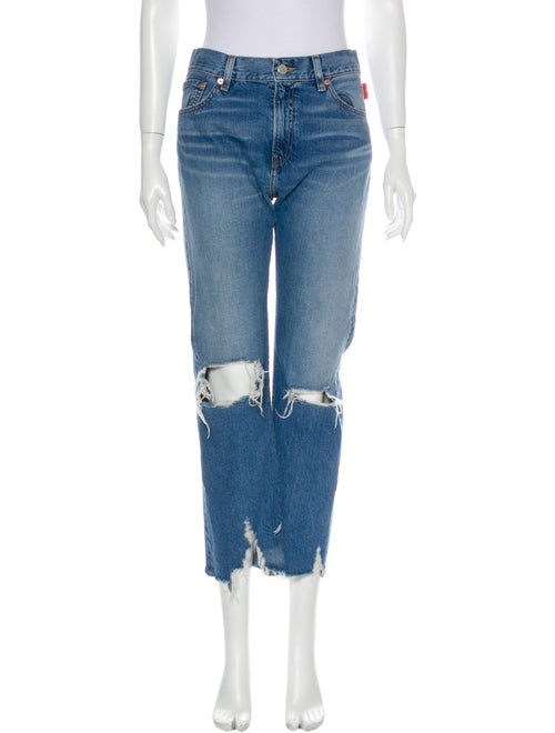 Denimist High-Rise Wide Leg Jeans Blue