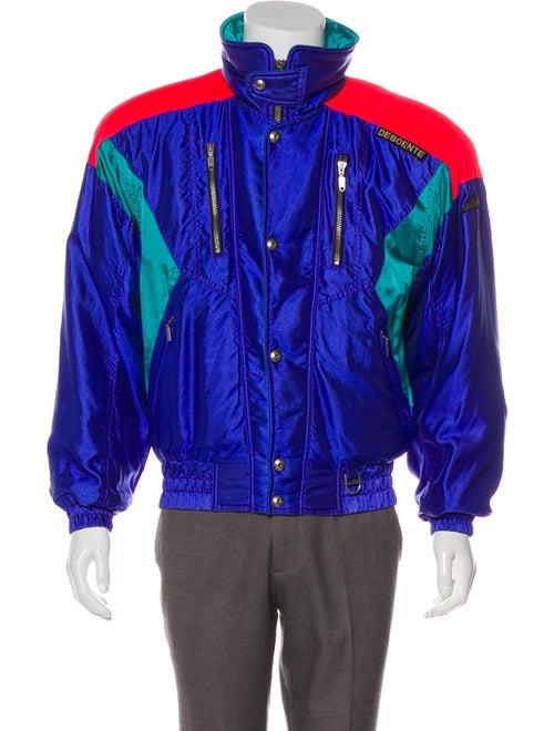 Descente Padded Colorblock Jacket multicolor