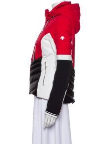 Descente Colorblock Pattern Biker Jacket w/ Tags