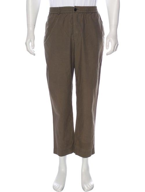 Deveaux Woven Lounge Pants olive