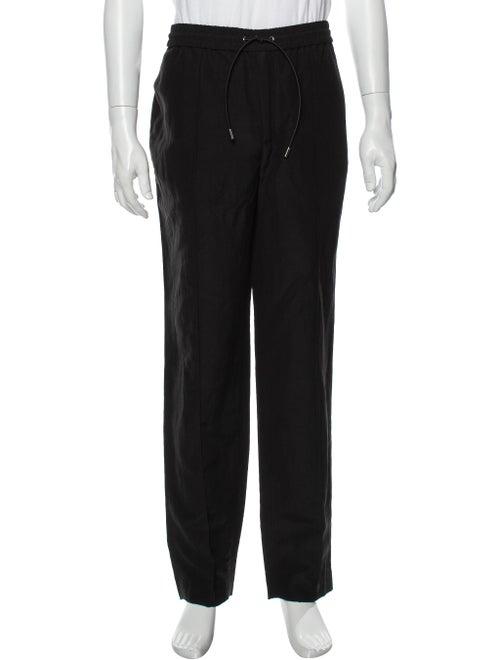 Deveaux Linen Pants Black