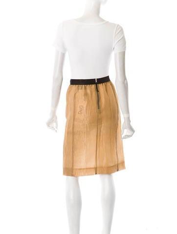 Organza Skirt w/ Tags