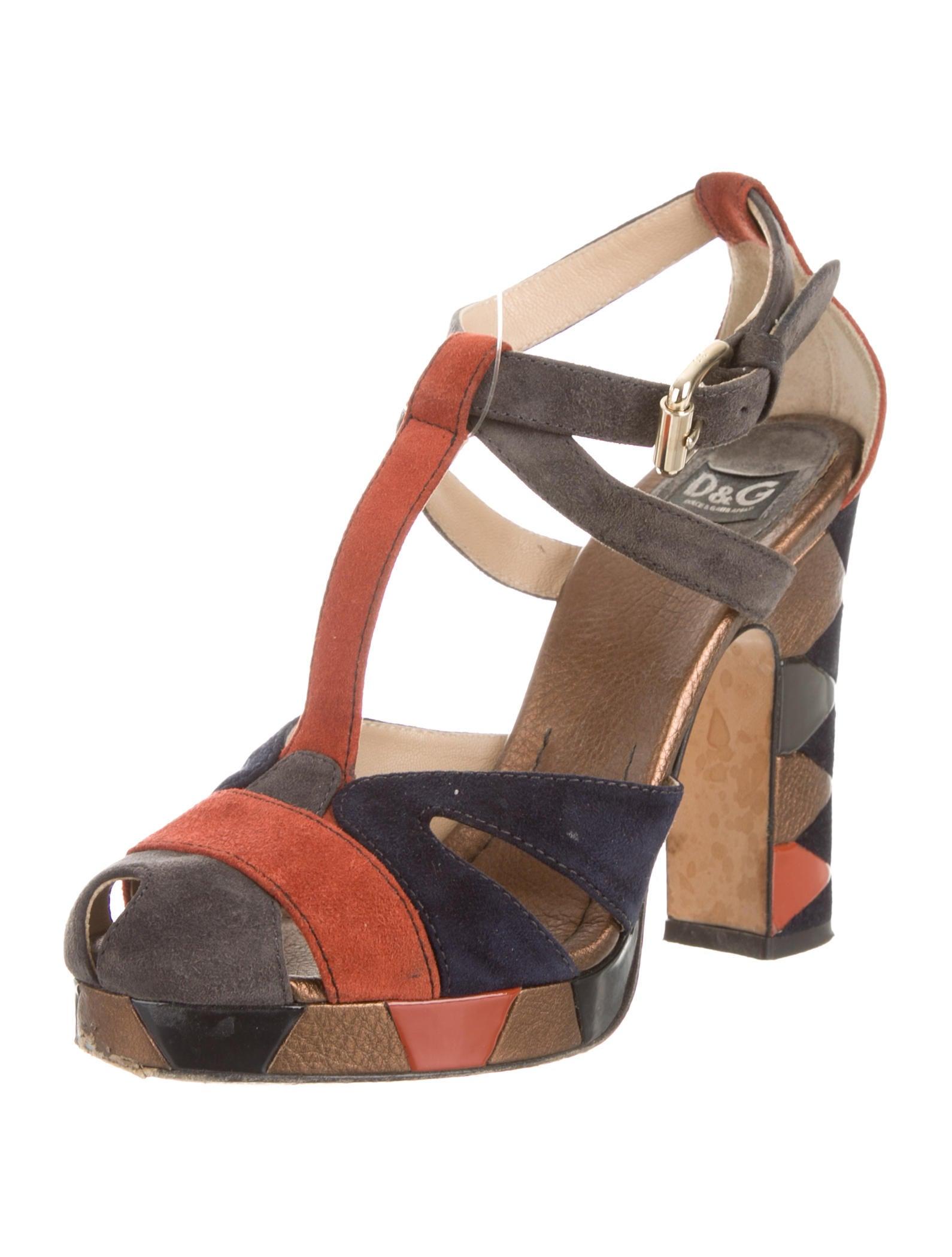 d g t strap pumps shoes wdg26801 the realreal. Black Bedroom Furniture Sets. Home Design Ideas