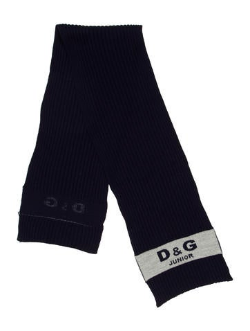 D&G Boy's Rib Knit Scarf None