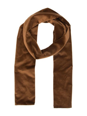 d g velvet scarf accessories wdg27153 the realreal