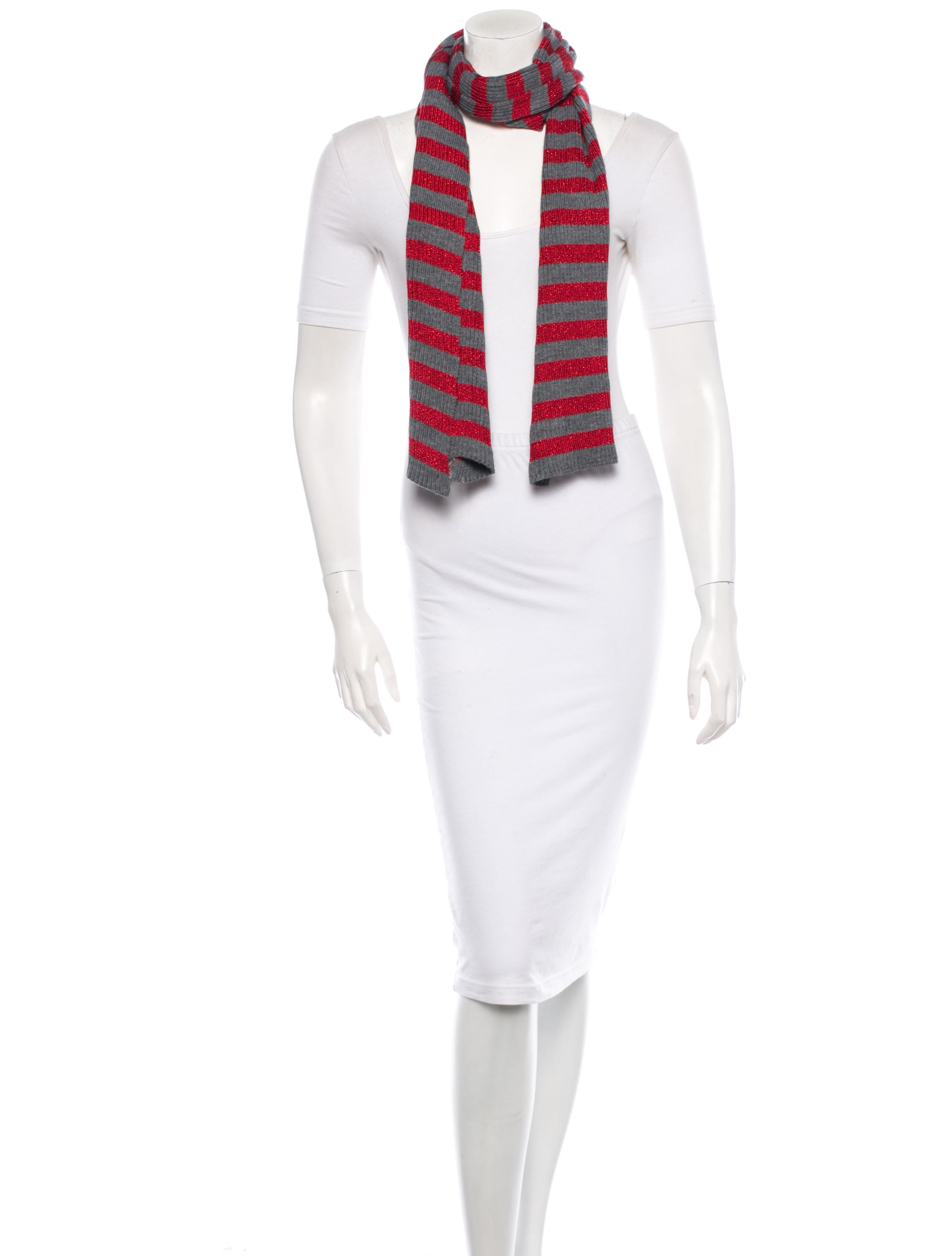 d g stripe scarf accessories wdg27632 the realreal