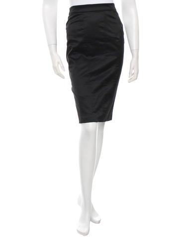 D&G Classic Pencil Skirt