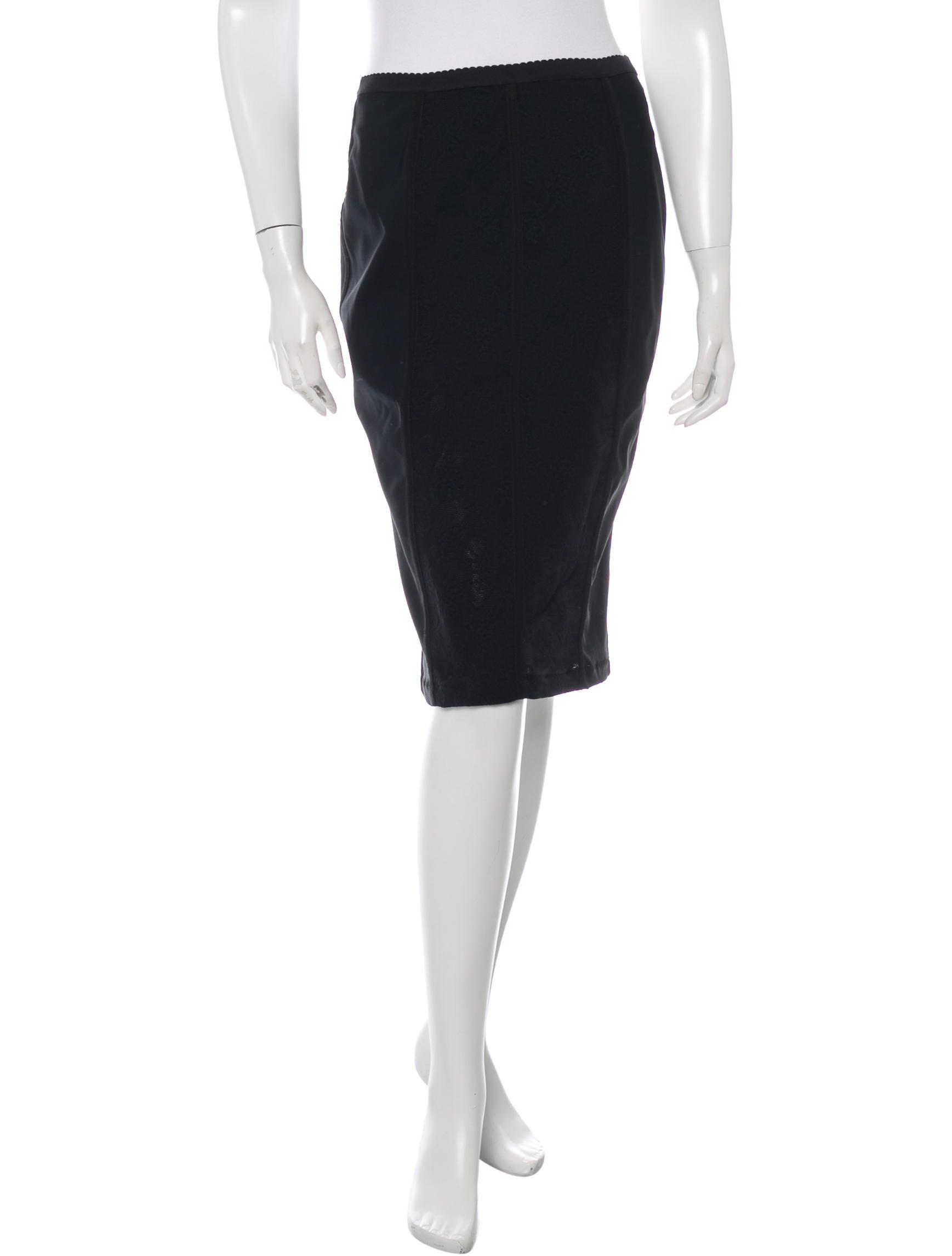 d g lace trim pencil skirt w tags clothing wdg30412