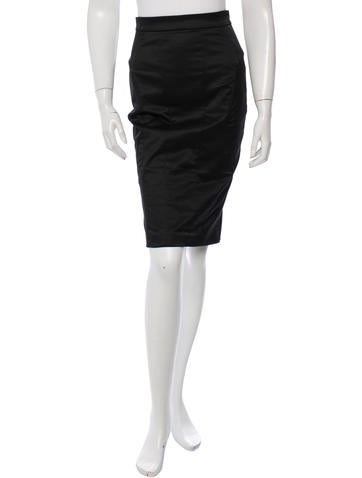 D&G Fitted Pencil Skirt