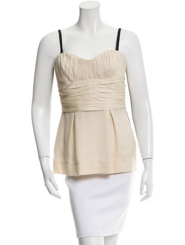 D&G Silk Gathered Top None