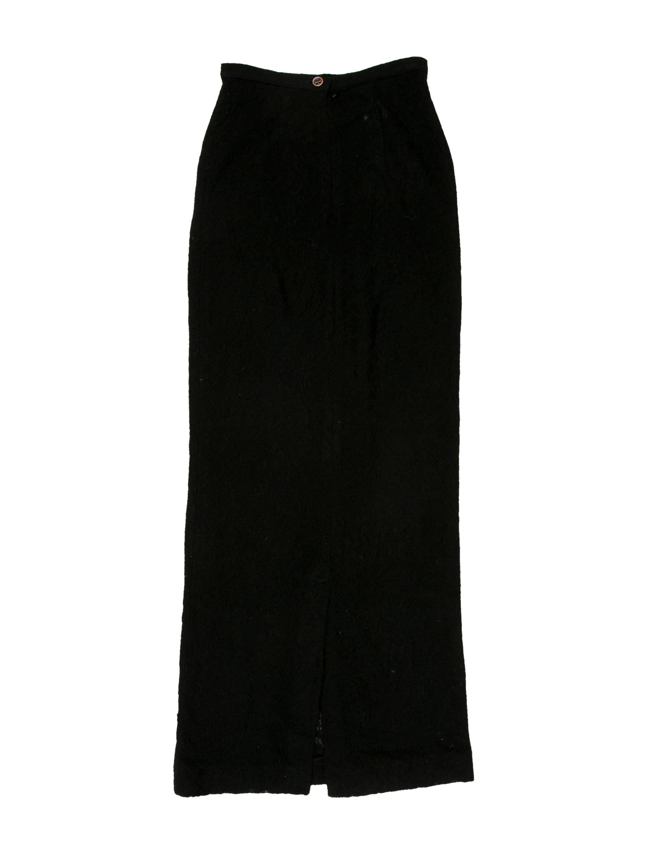d g wool maxi skirt clothing wdg31276 the realreal