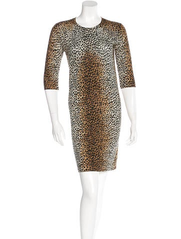 D&G Leopard Knit Dress None