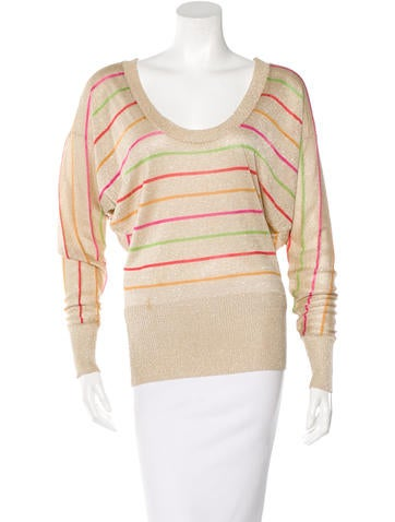 D&G Striped Long Sleeve Top None