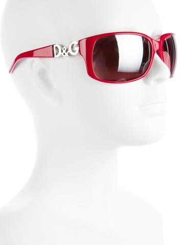 Reflective Rectangular Sunglasses