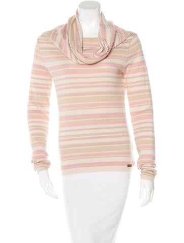D&G Striped Long Sleeve Sweater None