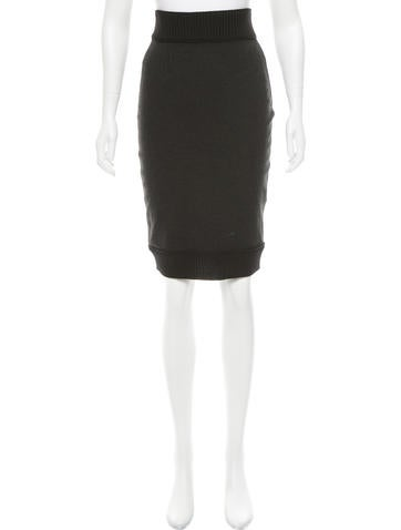 D&G Knit Knee-Length Skirt None