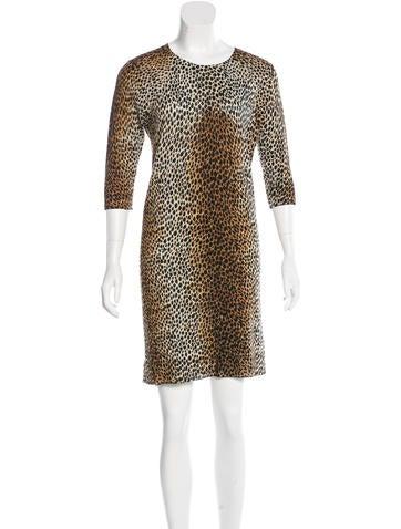 D&G Virgin Wool Sweater Dress None