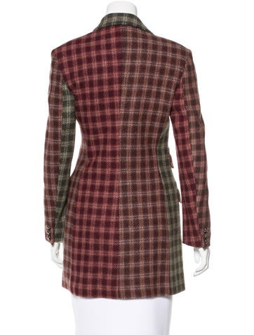 Plaid Short Coat