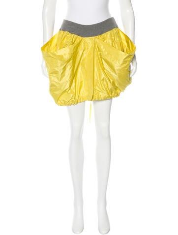 D&G Silk Mini Skirt w/ Tags None
