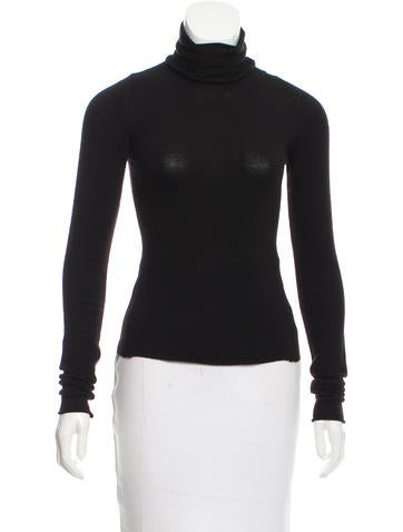 D&G Turtleneck Fine Knit Sweater None