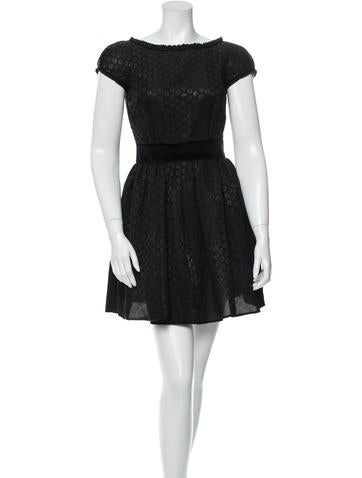 D&G Silk Polka Dot Mini Dress