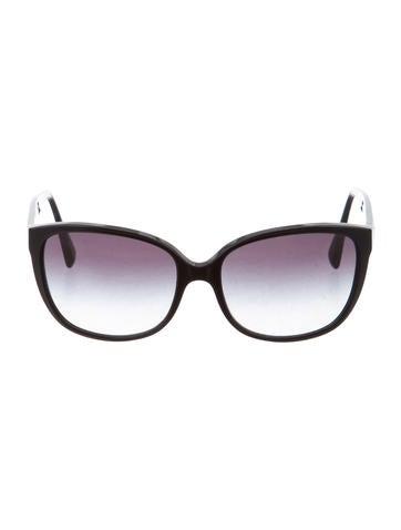 D&G Oversize Embellished Sunglasses