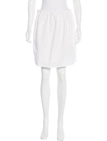 D&G Gathered Mini Skirt None