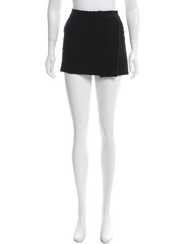 D&G Wool Mini Skirt None