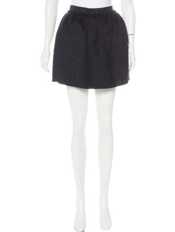 D&G Mini A-Line Skirt None