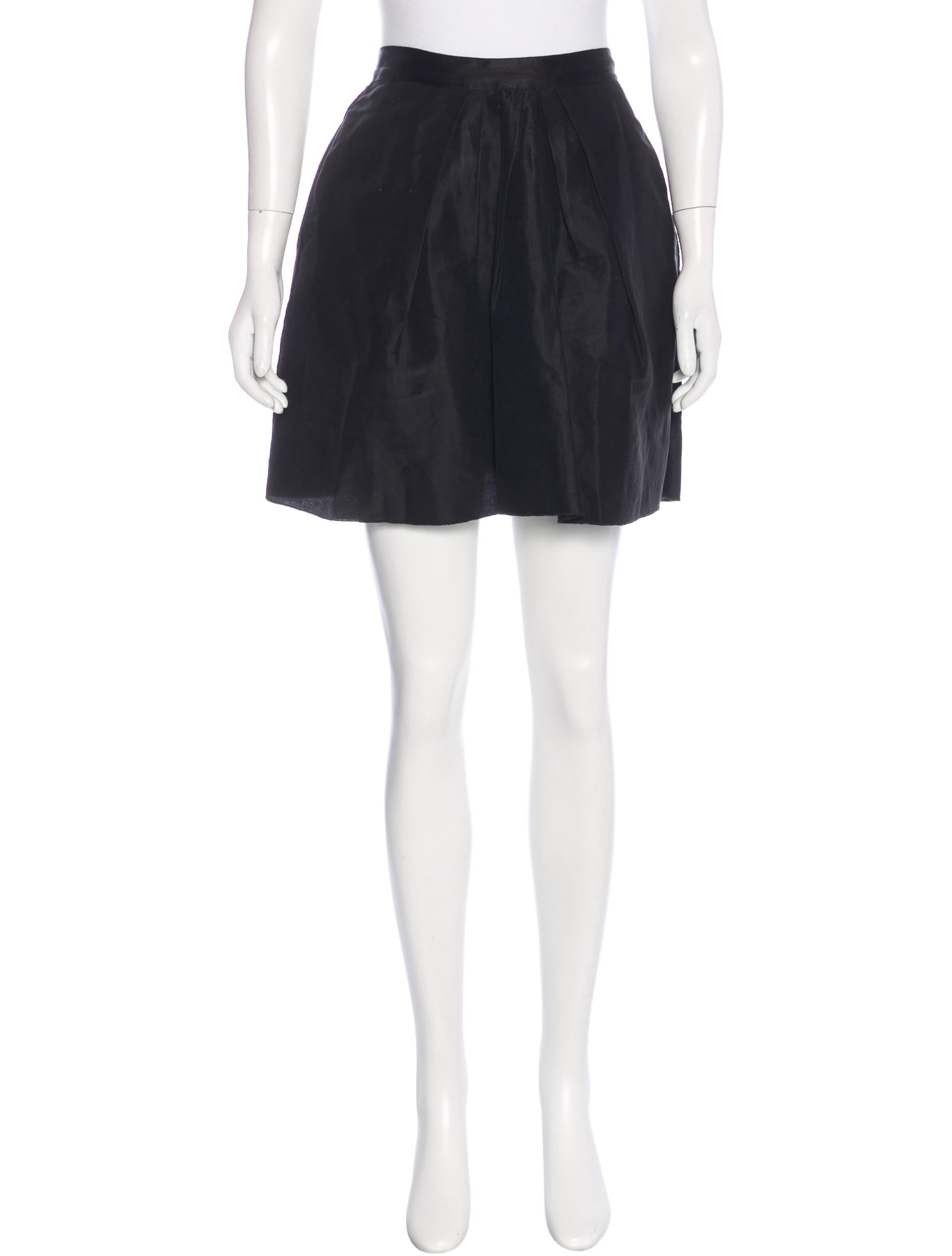 d g linen a line skirt clothing wdg33996 the realreal